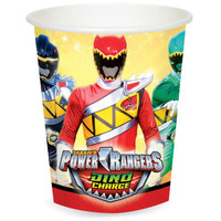 Power Rangers Dino Charge 9 oz. Paper Cups (8)