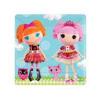 Lalaloopsy Square Dessert Plates (8)