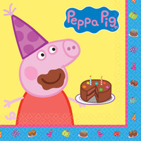 Peppa Pig Lunch Napkins