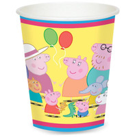 Peppa Pig 9 oz. Paper Cups
