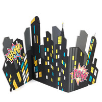Superhero Girl City Scape Standup