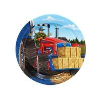 Farm Tractor Dessert Plates