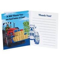 Farm Tractor Thank You Notes