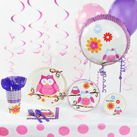 Owl Blossom Deluxe Party Pack