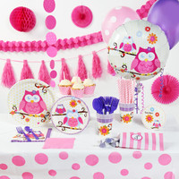 Owl Blossom Super Deluxe Party Pack