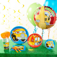 Construction Pals Deluxe Party Pack