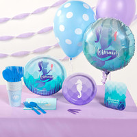 Mermaids Under the Sea Basic Party Pack