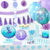Mermaids Under the Sea Super Deluxe Party Pack