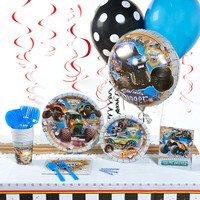 Monster Jam 3D Deluxe Party Pack