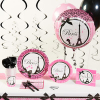 Paris Damask Deluxe Party Pack