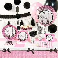 Paris Damask Super Deluxe Party Pack