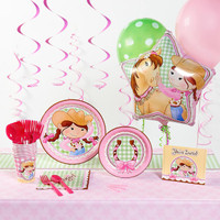Pink Cowgirl Deluxe Party Pack