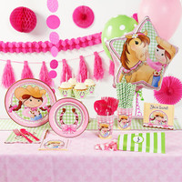 PInk Cowgirl Super Deluxe Party Pack