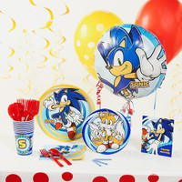 Sonic the Hedgehog Deluxe Party Pack