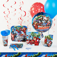 Marvel Avengers Assemble Deluxe Party Pack
