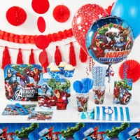 Marvel Avengers Assemble Super Deluxe Party Pack