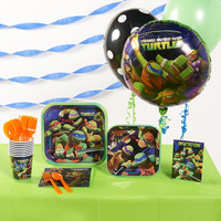 Nickelodeon Teenage Mutant Ninja Turtles Basic Party Pack