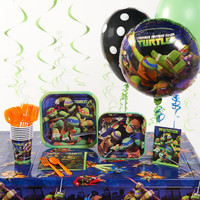 Nickelodeon Teenage Mutant Ninja Turtles Deluxe Party Pack