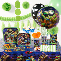 Nickelodeon Teenage Mutant Ninja Turtles Super Deluxe Party Pack