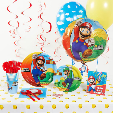 Super Mario Brother Deluxe Party Pack