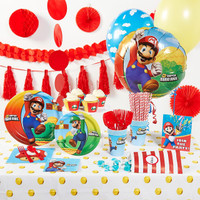 Super Mario Brothers Super Deluxe Party Pack