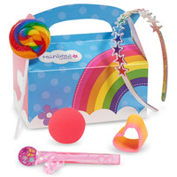 Rainbow Birthday Filled Party Favor Box