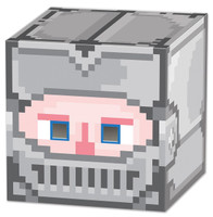 Knight 8-Bit Box Head