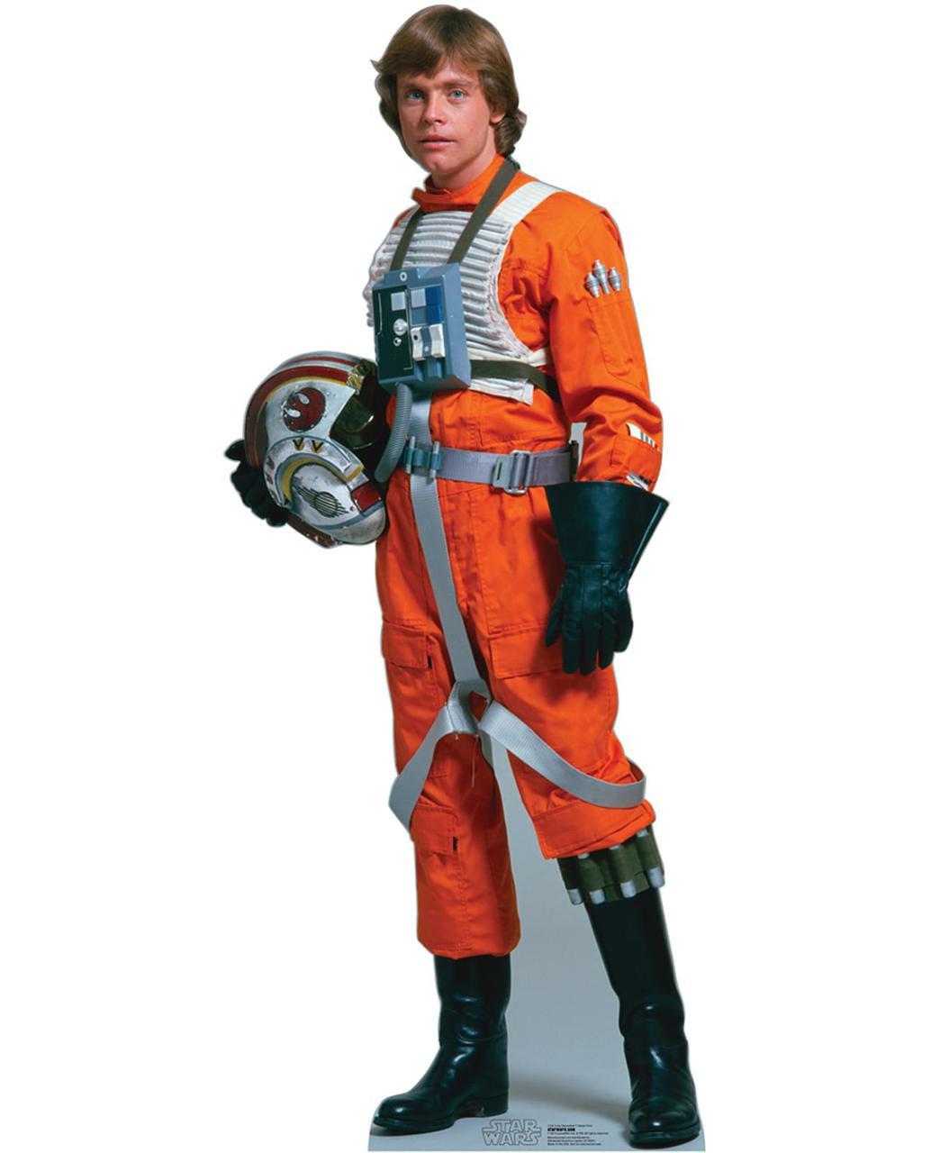 star wars luke skywalker rebel pilot standup 5 39 tall thepartyworks. Black Bedroom Furniture Sets. Home Design Ideas