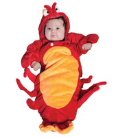 Lobster Bunting Infant Costume