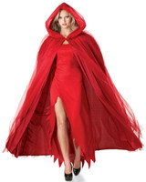 Devilish Red Cape