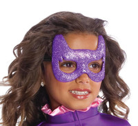 Batgirl Glitter Mask