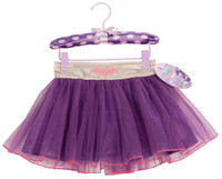 Batgirl Tutu Skirt With Puff Hanger