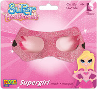 Supergirl Glitter Mask