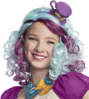 Ever After High -  Madeline Hatter Wig with Headpiece