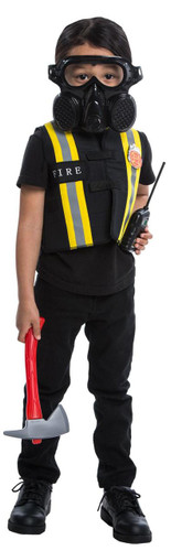 This Four Piece Fireman Costume Accessory Set is a Perfect Kit for Your Fireman Dress Up Costume Role Play Set with Accessories by Le Shong. by Le Shong. $ $ 17 98 Prime. FREE Shipping on eligible orders. Only 5 left in stock - order soon. 5 out of 5 stars 3. Manufacturer recommended age: 3 Years and up.