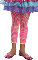 Hot Pink & Lime Green Kids Leggings