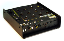 Whirlwind PressMite - This compact, active press feed distribution box distributes 12 high-quality mic level signals and 2 line level signals with a high degree of isolation between outputs.