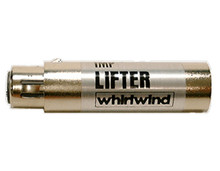 Whirlwind LIFTER - Ideal for troubleshooting ground problems, this female-to-male XLR 3-pin inline device disconnects pin 1 between the connectors. It isolates the ground of a balanced audio signal without requiring you to cut the cable's shield wire.