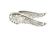 Lenny and Eva Take Flight Pendant - Silver