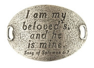 Lenny and Eva Trousseau Sentiment - I am my beloved's and .... - Silver