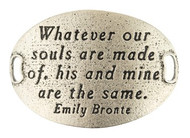 Lenny and Eva Trousseau Sentiment - Whatever our souls are... - Silver