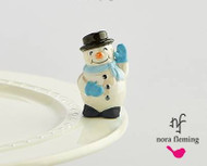 Nora Fleming Snowman Mini, frosty pal