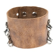 Lenny and Eva Wide Cuff in Aged Chestnut