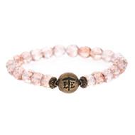 Lenny and Eva Beaded Bracelet - Pink Mist