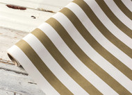 Hester and Cook Gold Classic Stripe Runner