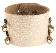 Lenny and Eva Wide Cuff in Champagne