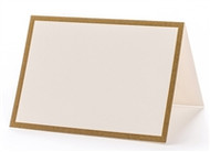 Kitchen Paper - Gold Frame Place Cards