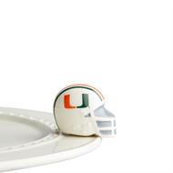 NEW:  Nora Fleming Miami Helmet Mini