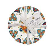 """Le Cadeaux Marrakech Appetizer Plates, 6.5"""" Set/4"""