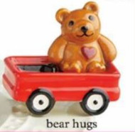 NEW: Pre-Order Limited Edition Bear Hug Mini, Available in August,  Nora Fleming will donate $9.00 to St. Judes Childrens Research Hospital for every Mini Purchased.
